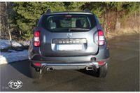 FOX Duplex Sportauspuff Dacia Duster 4x4 Facelift 1,5l D 80kW - 145x65 Typ 59 rechts/links Bild 4