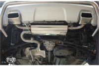 FOX Duplex Sportauspuff Dacia Duster 4x4 Facelift 1,5l D 80kW - 145x65 Typ 59 rechts/links Bild 3