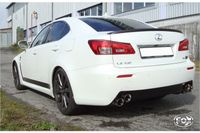 FOX Duplex Sportauspuff Lexus IS F 5,0l 311kW - 2x90 Typ 25 rechts/links Bild 4