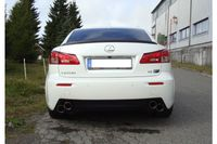 FOX Duplex Sportauspuff Lexus IS F 5,0l 311kW - 2x90 Typ 25 rechts/links Bild 2