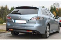 FOX Duplex Sportauspuff Mazda 6 Typ GH Benzin - 115x85 Typ 38 rechts/links Bild 2