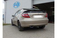 Fox Sportauspuff Mercedes C-Klasse Sportcoupe CL203 1,8l 105kW - 160x80 Typ 53 Bild 2