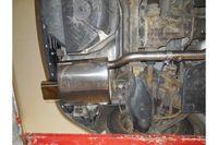 Fox Sportauspuff Mercedes C-Klasse Sportcoupe CL203 1,8l 105kW - 160x80 Typ 53 Bild 3