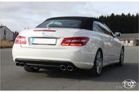 FOX Duplex Sportauspuff Mercedes E-Klasse Cabrio A207 6 Zylinder - 2x115x85 Typ 32 rechts/links Bild 4