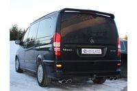 Fox Duplex Sportauspuff Mercedes Vito/ Viano - W639 (nicht Compact) - 2x115x85 Typ 32 rechts/links Bild 3