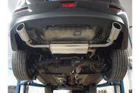 FOX Duplex Sportauspuff Mitsubishi Lancer CYO Stufenheck/ Sportback - 115x85 Typ 38 rechts/links