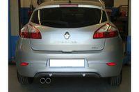 FOX Sportauspuff Renault Megane 3 - 2x80 Typ 17 Bild 5
