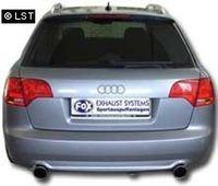 FOX Duplex Rennsportanlage Audi A4 Typ B7 Quattro - 1x90 Typ 17 rechts/links Bild 2