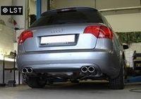 FOX Duplex Komplettanlage Audi A4 Typ B7 Quattro - 2x88x74 Typ 32 rechts/links Bild 2