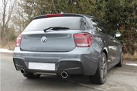 FOX Duplex Sportauspuff Rennsportanlage BMW F20/F21 M135i 3,0l 235kW - 1x100 Typ 16 rechts/links Bild 3