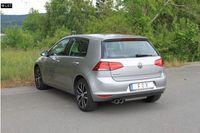 FOX Rennsportanlage VW Golf 7 1.2l 1.4l ab 12 - 2x80mm Typ 25 Bild 3
