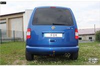 FOX Rennsportanlage ab Kat VW Caddy 3 1.4l 1.6l 2.0SDI 2x80mm Typ 17