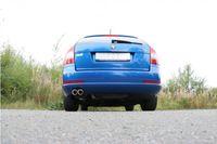 FOX Sportauspuff Komplettanlage Skoda Octavia Typ 1Z RS 2,0l RS 147kW 2,0l TDI 125kW - 2x76 Typ 17 Bild 5