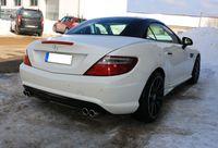 FOX Duplex Sportauspuff Mercedes SLK Typ 172 AMG-Line - 2x76 Typ 16 rechts/links Bild 7