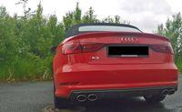 FOX Duplex Sportauspuff Audi S3 8V + Cabrio 2x106x71 Typ 44  Bild 2