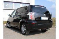 FOX Sportauspuff Toyota Corolla Verso Diesel 2,2 D-4D 130kW Bj. ab 04´ - 2x106x71 Typ 32 Bild 3