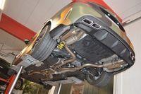 FRIEDRICH MOTORSPORT Duplex Sportauspuff 76 mm Audi Q5 8R Quattro Bj. 2009-04/2015 3.0l TFSI 200kW / 3.2l FSI 199kW - Endrohrvariante frei wählbar