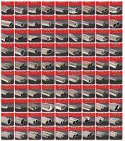 FRIEDRICH MOTORSPORT 76mm Duplex Komplettanlage  BMW 1er F20/F21 Bj. 08/2016-07/2018 3-/5-Türer  120i 135kW ohne Ottopartikelfilter - Endrohrvariante frei wählbar