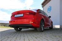 FOX 70mm Sportauspuff Audi A3 8V Limousine 1.4l TFSI 90/92/103/110kW - 2x80 Typ 16 Bild 3