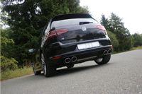 FOX Duplex 70mm Duplex Sportauspuff VW Golf 7 R  4-Motion 2.0l 221kW - 2x115x85 Typ 44 rechts/links Bild 3