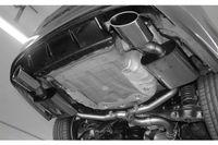 FOX Duplex 76 / 2x55 mm Duplex Sportauspuff VW Golf 7 Variant R  4-Motion 2.0l 206/221kW - 160x90 Typ 38 rechts/links Bild 4