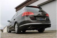 FOX Duplex Sportauspuff VW Passat 365  4-Motion 2.0l TDI 125kW - 1x100 Typ 16 rechts/links
