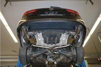 FOX Duplex Sportauspuff VW Passat 365  4-Motion 2.0l TDI 125kW - 1x100 Typ 16 rechts/links  Bild 4