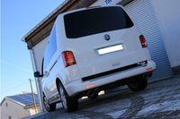 FOX Duplex Sportauspuff VW Bus T5 / T6 - 2x115x85 Typ 32 rechts/links Bild 6