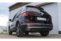 FOX Duplex Sportauspuff VW Tiguan 2 Benzin  4motion 2.0l 132kW - 2x90 Typ 12 rechts/links Bild 3