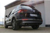 FOX Duplex Sportauspuff VW Tiguan 2 Benzin  4motion 2.0l 132kW - 160x90 Typ 38 rechts/links Bild 4
