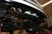 FOX 70mm Duplex Sportauspuff VW Tiguan 2 Diesel - 4motion 2.0l TDI 110/140kW - 2x80 Typ 25 rechts/links Bild 3