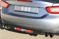 FOX Duplex Sportauspuff Fiat 124 Spider 1.4l 103kW - 2x76 Typ 25 rechts/links Bild 5