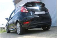 FOX Sportauspuff Ford Fiesta 7 - Black/ Red Edition 1.6l 99kW - 145x65 Typ 59 Bild 3