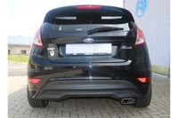 FOX Sportauspuff Ford Fiesta 7 - Black/ Red Edition 1.6l 99kW - 145x65 Typ 59 – Bild $_i