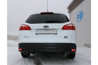 FOX Duplex Sportauspuff Ford Focus 3 Ecoboost 1.0l 74/92kW - 106x71 Typ 32 rechts/links Bild 3