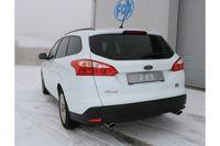 FOX Duplex Sportauspuff Ford Focus 3 Ecoboost 1.0l 74/92kW - 106x71 Typ 32 rechts/links Bild 4
