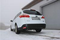 FOX Duplex Sportauspuff Ford Focus 3 Ecoboost 1.0l 74/92kW - 106x71 Typ 32 rechts/links Bild 5