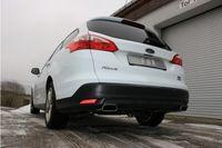 FOX Duplex Sportauspuff Ford Focus 3 Ecoboost 1.0l 74/92kW - 145x65 Typ 59 rechts/links