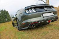 FOX Duplex Sportauspuff Ford Mustang Coupe & Cabrio 4-Zylinder 2.3l 231kW - 1x100 Typ 25 rechts/links Bild 3
