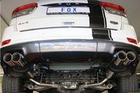 FOX Duplex Sportauspuff Jeep Grand Cherokee WK 2  5.7l 259kW - 2x90 Typ 25 rechts/links Bild 4