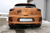 FOX Duplex Sportauspuff Kia Pro Cee`d GT 1.6l 150kW - 160x90 Typ 38 rechts/links Bild 3
