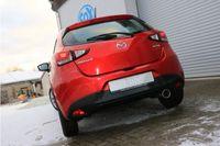 FOX Sportauspuff Mazda 2 DL/DJ 1.5l 55kW - 1x100 Typ 12 Bild 2