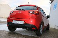 FOX Sportauspuff Mazda 2 DL/DJ 1.5l 55kW - 1x100 Typ 12 Bild 4