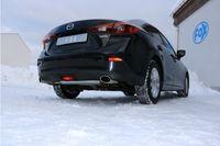 FOX Duplex Sportauspuff Mazda 3 - BM 2.0l 88kW - 115x85 Typ 38 rechts/links Bild 4