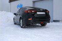 FOX Duplex Sportauspuff Mazda 3 - BM 2.0l 88kW - 115x85 Typ 38 rechts/links Bild 9