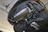FOX Duplex Sportauspuff Mazda 3 - BM 2.0l 88kW - 115x85 Typ 38 rechts/links Bild 10