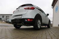 FOX Duplex Sportauspuff Mazda CX3 Benzin - DK AWD 2.0l 110kW - 1x100 Typ 16 rechts/links Bild 5