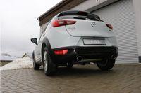 FOX Duplex Sportauspuff Mazda CX3 Benzin - DK AWD 2.0l 110kW - 115x85 Typ 32 rechts/links