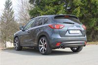 FOX Duplex Sportauspuff Mazda CX5 Diesel 4x4 - KE/ GH 2.2l D 110/129kW - 1x100 Typ 16 rechts/links Bild 7