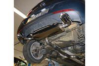 FOX 70mm Duplex Sportauspuff Opel Astra K Schrägheck 1.6l 147kW - 1x100 Typ 25 rechts/links Bild 5